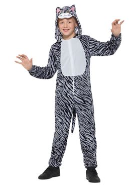 Child Tabby Cat Costume - Side View