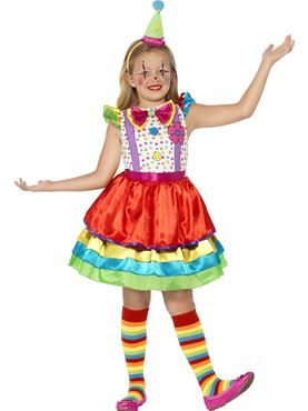 Child Deluxe Clown Costume