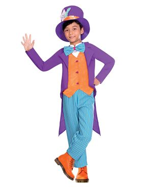 Child Tea Party Hatter Costume Couples Costume