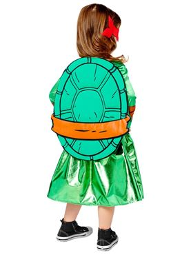 Child Teenage Mutant Ninja Turtles Costume - Back View