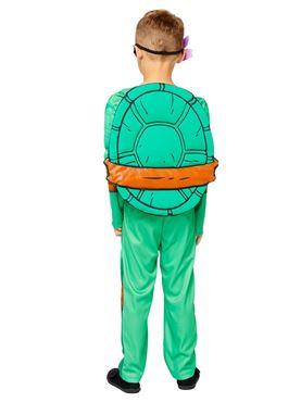 Child Teenage Mutant Ninja Turtles Deluxe Costume - Back View