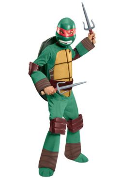 Child Teenage Mutant Ninja Turtles Deluxe Raphael Costume