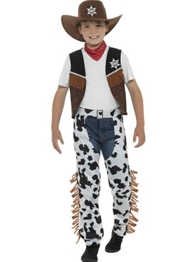 Child Texan Cowboy Costume