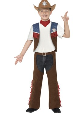 Child Texan Cowboy Costume Couples Costume