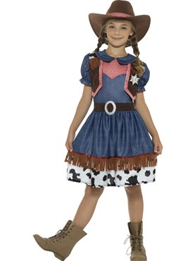 Child Texan Cowgirl Costume Couples Costume  sc 1 st  Fancy Dress Ball & Child Cowboy Costume - 48208 - Fancy Dress Ball