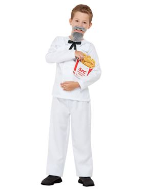 Child The Colonel Costume - Back View