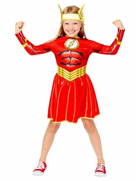 Child The Flash Girl Sustainable Costume Couples Costume