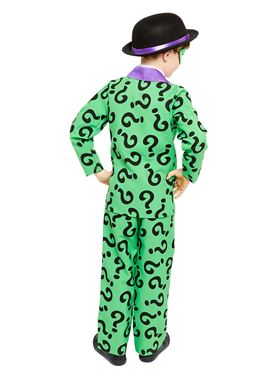 Child The Riddler Costume - Side View