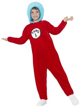 Child Thing 1 or 2 Costume