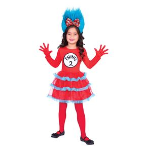 Child Thing One and Two Dress Costume Couples Costume