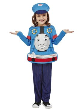 Child Thomas the Tank Engine Toddler Costume - Back View