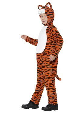 Child Tiger Costume - Side View