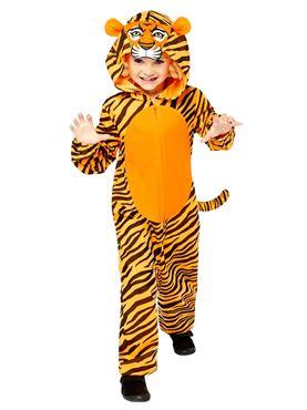 Child Tiger Onesie Costume Couples Costume