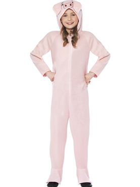 Child Pig Onesie Costume
