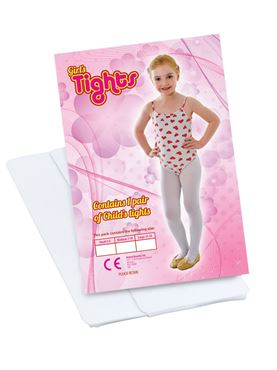 Child Tights - Red Green or White - Side View