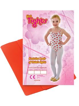 Child Tights - Red Green or White
