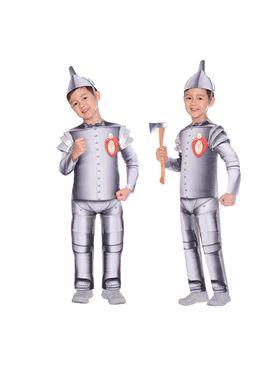 Child Tin Man Costume - Side View