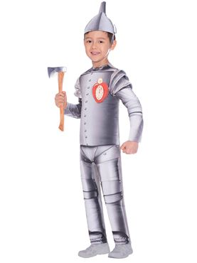 Child Tin Man Costume - Back View