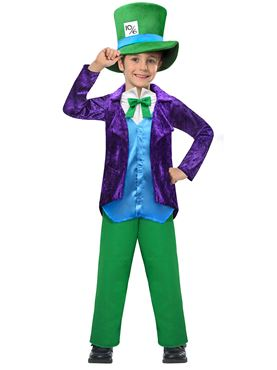 Child Top Mad Hatter Costume Couples Costume