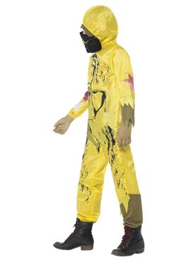 Child Toxic Waste Costume - Side View