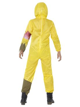 Child Toxic Waste Costume - Back View