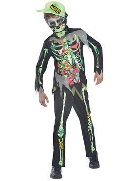 Child Toxic Zombie Costume
