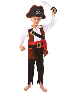 Child Treasure Pirate Costume