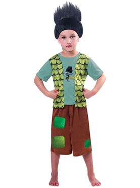 Child Trolls Branch Costume