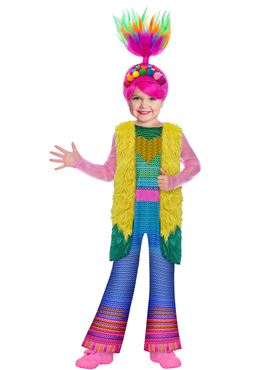 Child Trolls Movie 2 Finale Poppy Costume