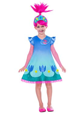 Child Trolls Movie 2 Poppy Costume Couples Costume
