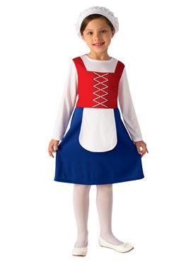 Child Tudor Girl Costume Couples Costume