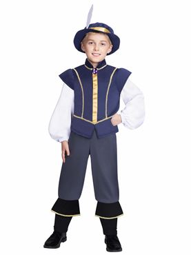 Child Tudor Prince Costume