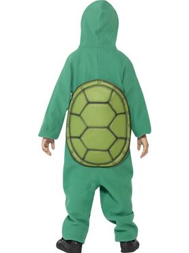 Child Turtle Costume - Back View