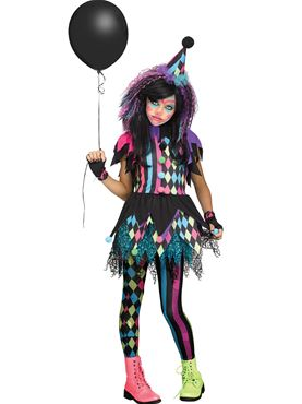 Child Twisted Circus Costume
