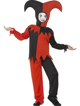 Child Twisted Jester Costume