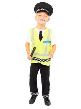 Child UK Police Officer Costume