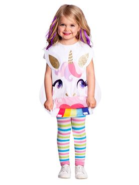 Child Unicorn Tabard Costume