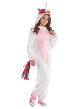 Child Unicorn Zipster Costume
