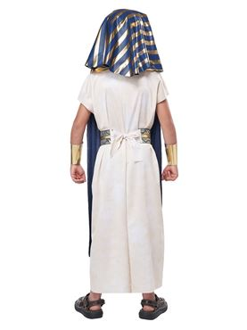 Child Unisex Ancient Egyptian Tunic Costume - Side View