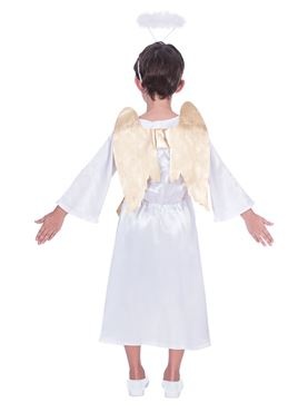 Child Unisex Angel Gabriel Costume - Back View