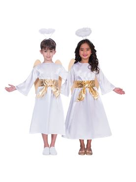 Child Unisex Angel Gabriel Costume