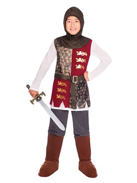 Child Valiant Knight Costume