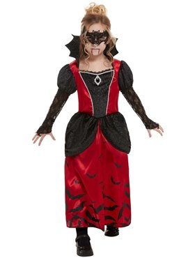 Child Vampire Costume - Back View