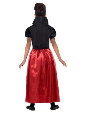 Child Vampire Princess Costume - Side View