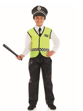 Child British Policeman Costume