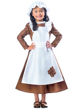 Child Victorian Girl Costume