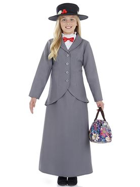 Child Victorian Nanny Costume