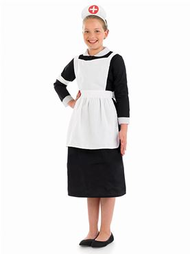 Child Victorian Nurse Costume  sc 1 st  Fancy Dress Ball & Child Victorian Nurse Costume - FS3605 - Fancy Dress Ball