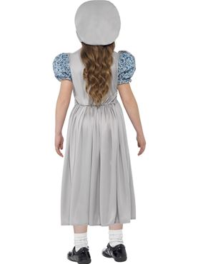 Child Victorian School Girl Costume - Side View