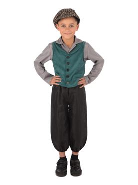 Child Victorian Street Boy Costume Couples Costume